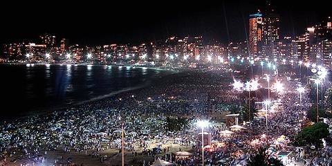 New Year in Rio de Janeiro