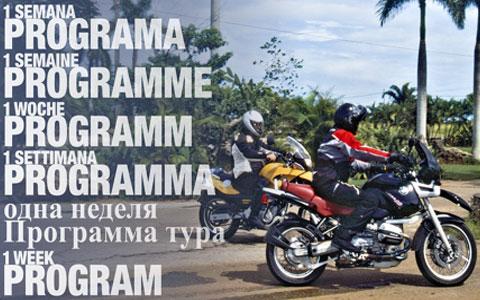 World Moto Tour - Programa de uma semana