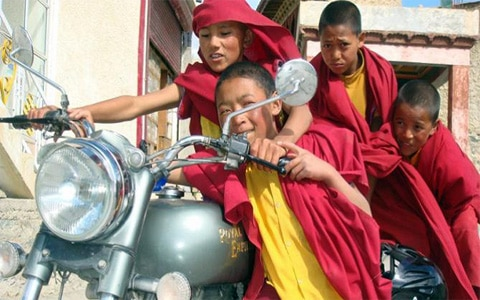 Himalayan Motorbike